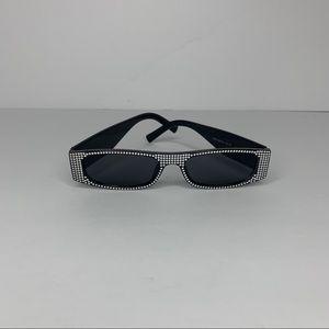 "Black ""Diamond"" Sunglasses"
